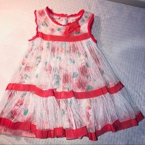 Baby Girl First Impressions High End Dress 12m